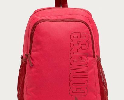 Růžový batoh converse