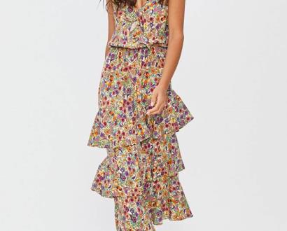 Vícebarevné šaty Answear Lab