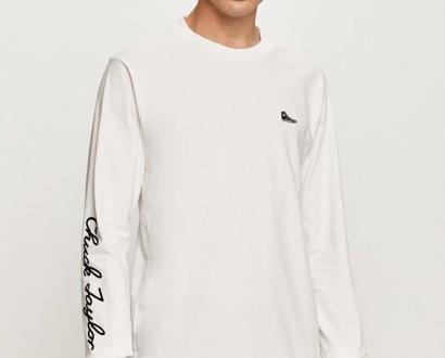 Bílé tričko converse