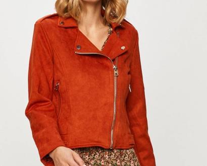 Oranžová bunda Haily's
