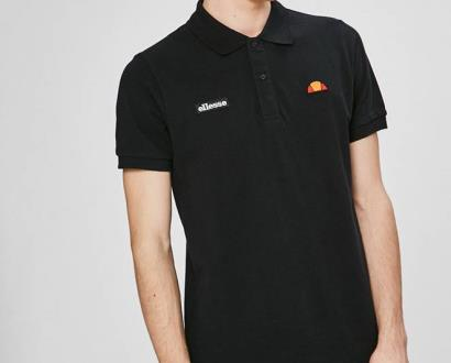 Černé tričko Ellesse