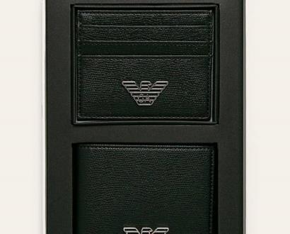 Černá peněženka Emporio Armani