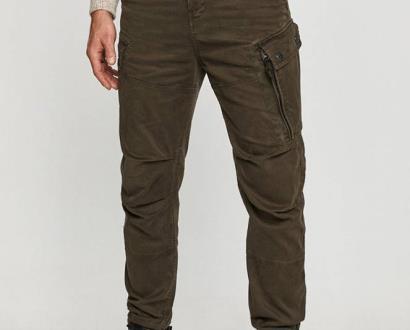 Zelené kalhoty G-Star RAW