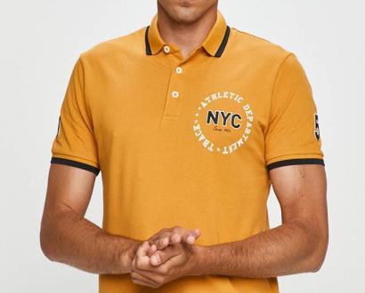 Žluté tričko PRODUKT by Jack & Jones