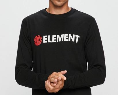 Černé tričko Element