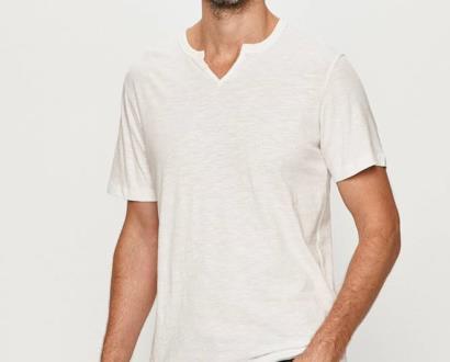 Bílé tričko PRODUKT by Jack & Jones