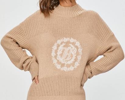 Béžový svetr tommy hilfiger