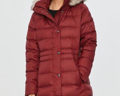 Burgundská bunda tommy hilfiger