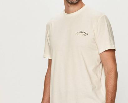 Béžové tričko quiksilver