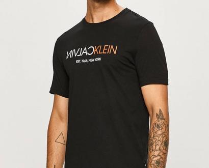Černé tričko Calvin Klein