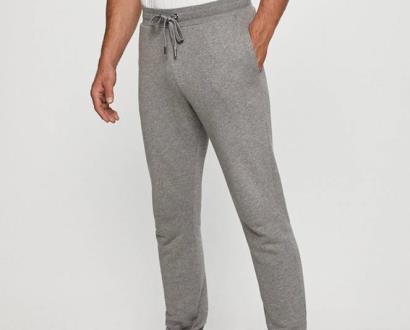 Šedé kalhoty Trussardi Jeans