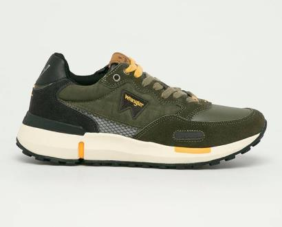 Zelené boty wrangler