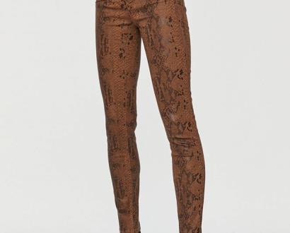 Hnědé kalhoty Morgan