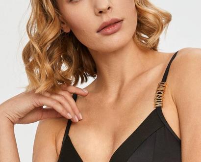 Černé spodní prádlo Moschino Underwear
