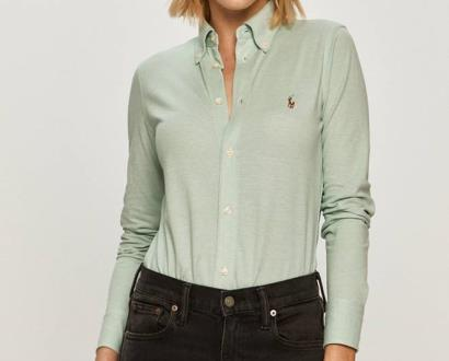 Zelený top Polo Ralph Lauren