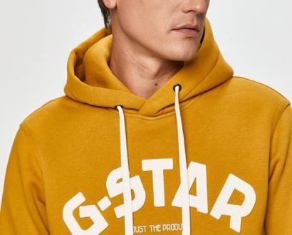 Žlutá mikina G-Star RAW