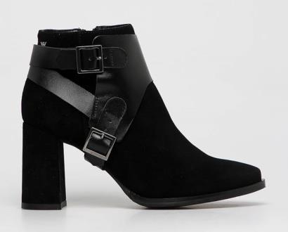 Černé boty Wojas