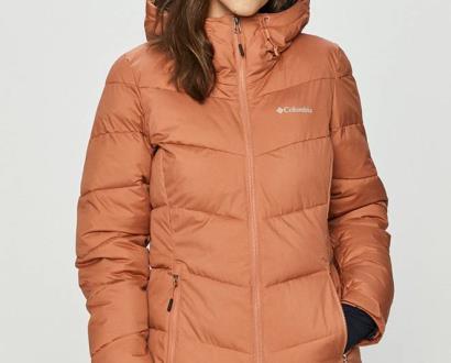 Oranžová bunda columbia