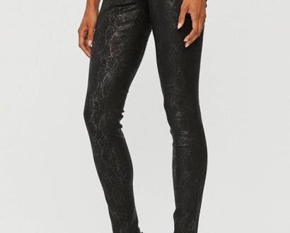 Černé kalhoty Morgan