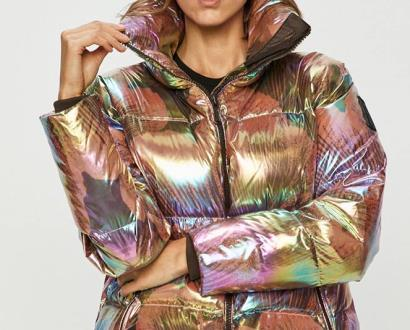 Vícebarevná bunda Bomboogie