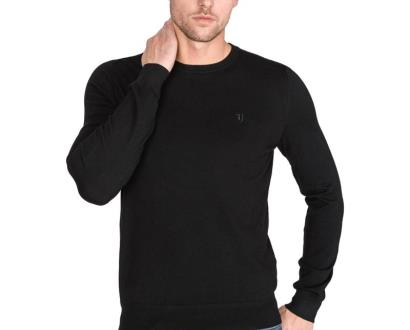 Černý svetr Trussardi Jeans