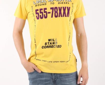 Žluté tričko Diesel