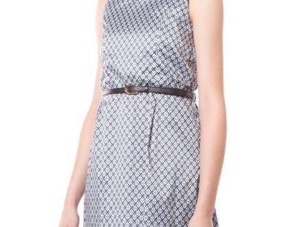 Modré šaty Fracomina