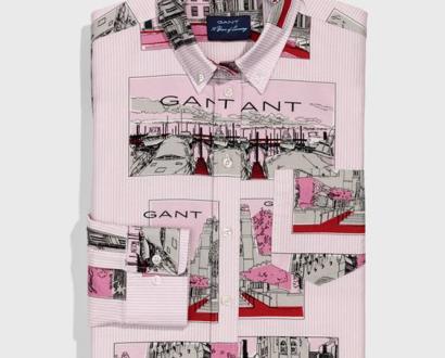 Růžová halenka gant