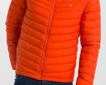 Oranžová bunda gant