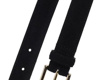 Černý pásek gant