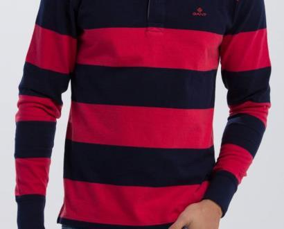 Růžová košile gant