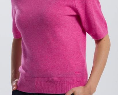 Růžový svetr gant