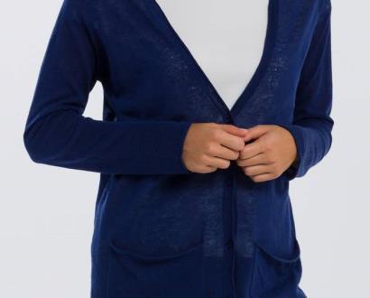 Modrý svetr gant