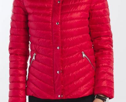 Červená bunda gant