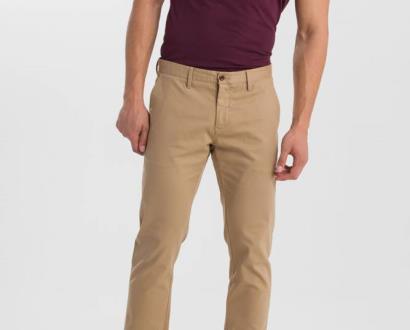 Hnědé kalhoty gant