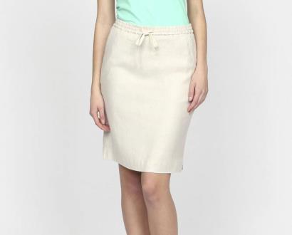 Bílá sukně gant