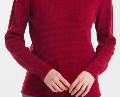 Červený svetr gant