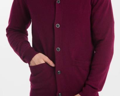 Fialový svetr gant