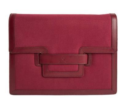 Červená kabelka gant