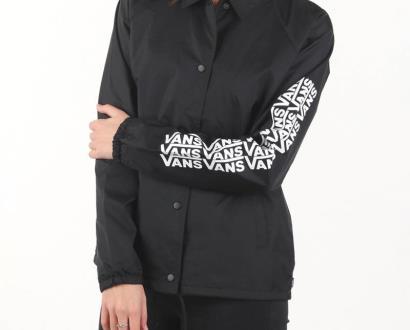 Černá bunda vans