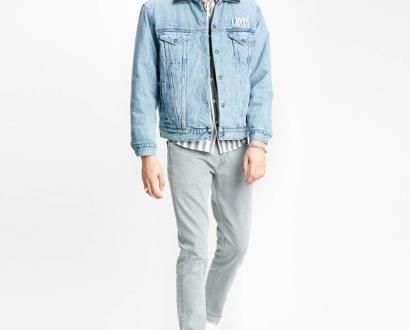 Modrá bunda Levi's