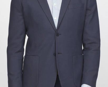 Modré sako gant