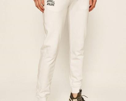 Bílé kalhoty Russell Athletic