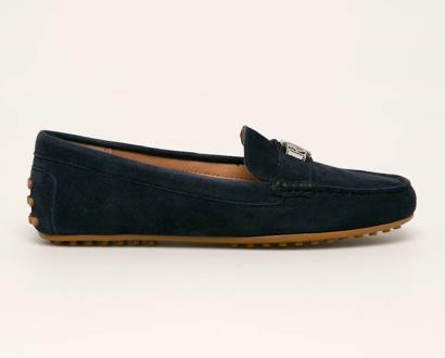 Modré boty lauren ralph lauren