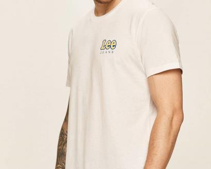 Bílé tričko lee