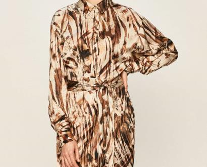 Béžové šaty Marciano Guess