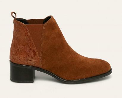 Hnědé boty Marco Tozzi