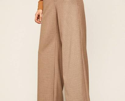 Hnědé kalhoty Miss Sixty