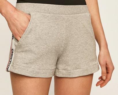 Šedé kraťasy Moschino Underwear