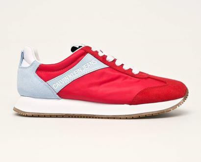 Červené boty calvin klein jeans